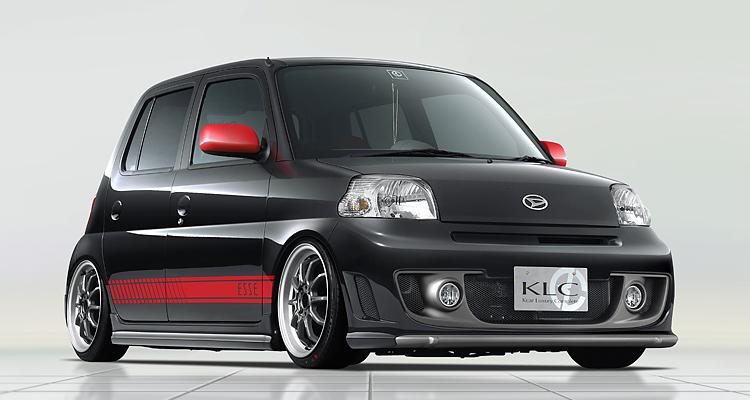 ダイハツ Esse エッセ L235s エアロパーツ Klc Kcar Luxury Complete