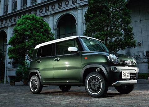 リフトアップ・軽自動車|ハスラー|Another world|KLC,Kcar Luxury Complete 軽自動車・Kカー エアロパーツ  ラグジースタイルドレスアップ|ケーエルシー